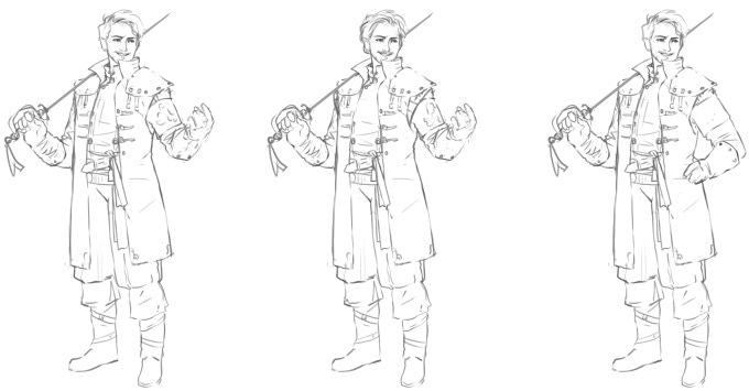 Reiner early sketches