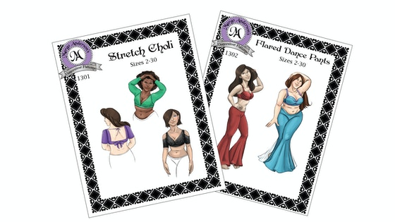Sewing Patterns for Bellydancers