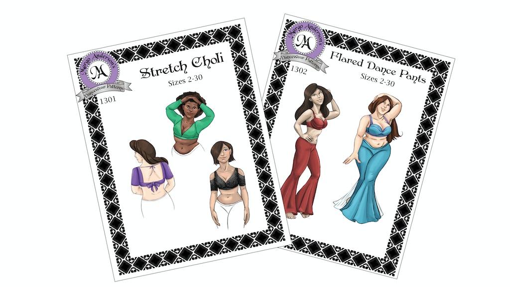 Sewing Patterns For Bellydancers By Margo Anderson Kickstarter