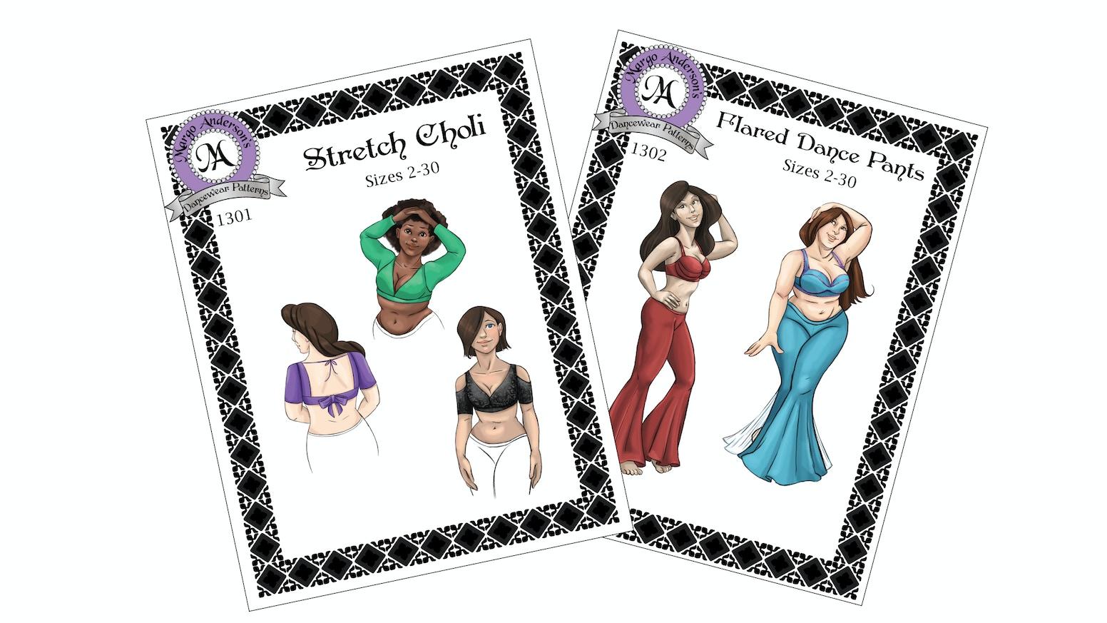Sewing Patterns for Bellydancers by Margo Anderson — Kickstarter