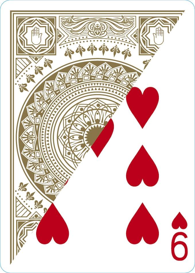 Gaff card