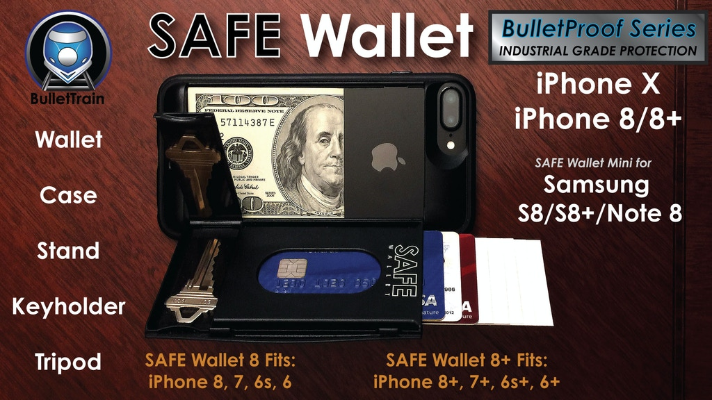 SAFE Wallet for iPhone X, iPhone 8, 8+ & SAFE Wallet Mini project video thumbnail