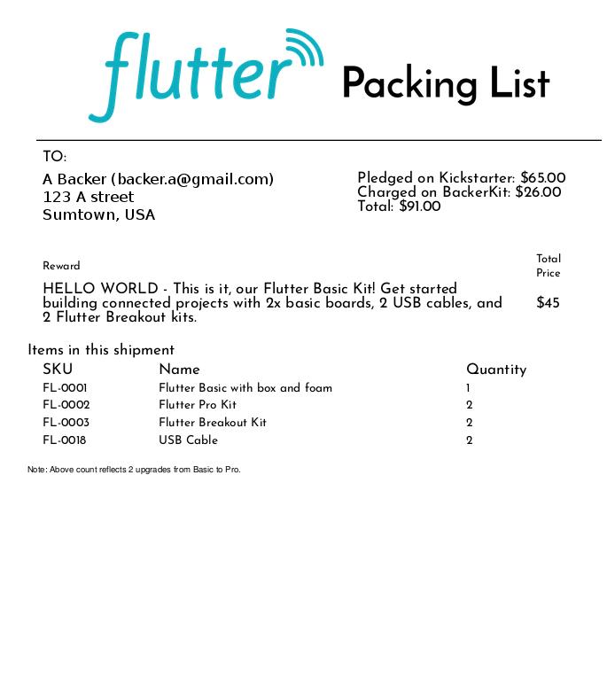 Flutter: $20 Wireless Arduino with half mile (1km) range  by Flutter