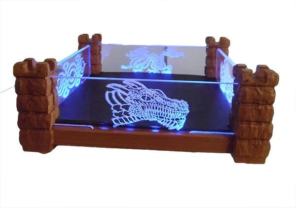 Castle Dice Tray By Enlightened Woodcraft Kickstarter