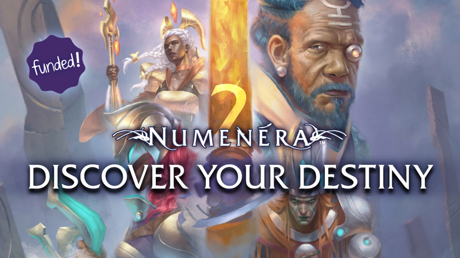 Discover the Ninth World, then fulfill your destiny to lift it from an age of darkness. Two new corebooks, plus loads of stretch goals, for Numenera.