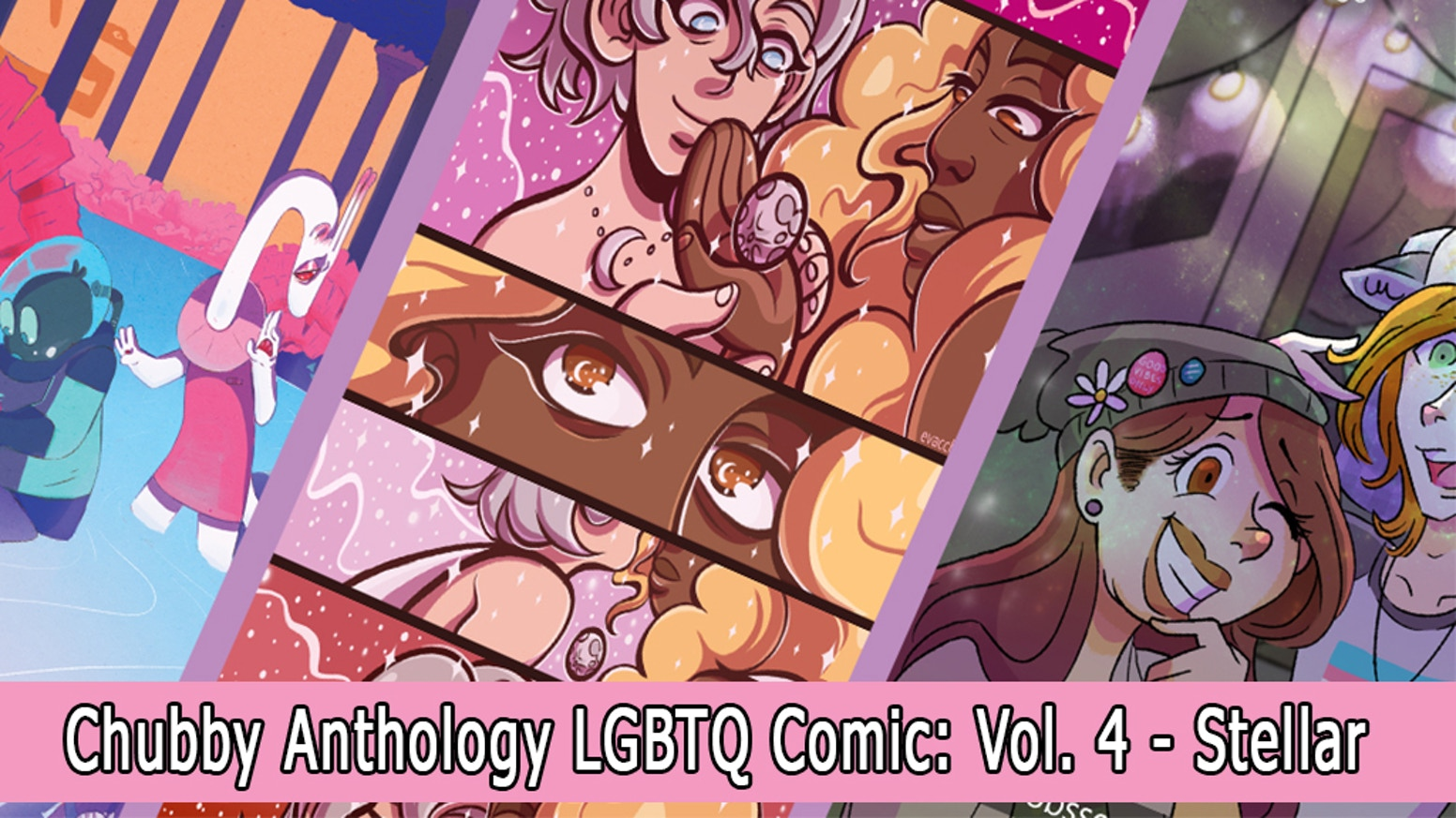 Chubby Anthology is a LGBT+ and body positive quarterly zine, featuring the works of various talented artists, worldwide!