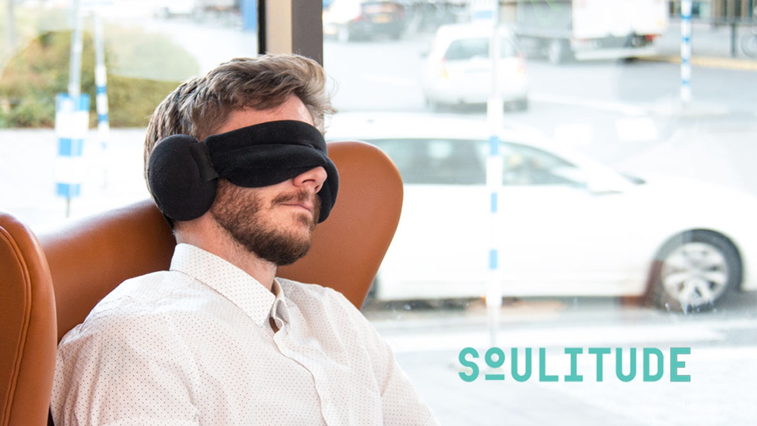 Premium 100% blackout sleep mask meets industrial grade sound-reduction earmuffs. Stylish and super comfortable. Enjoy some solitude.