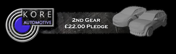 2nd Gear Pledge Level