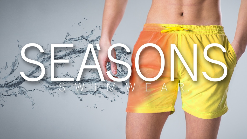 SEA'SONS - World's first color changing swim shorts project video thumbnail