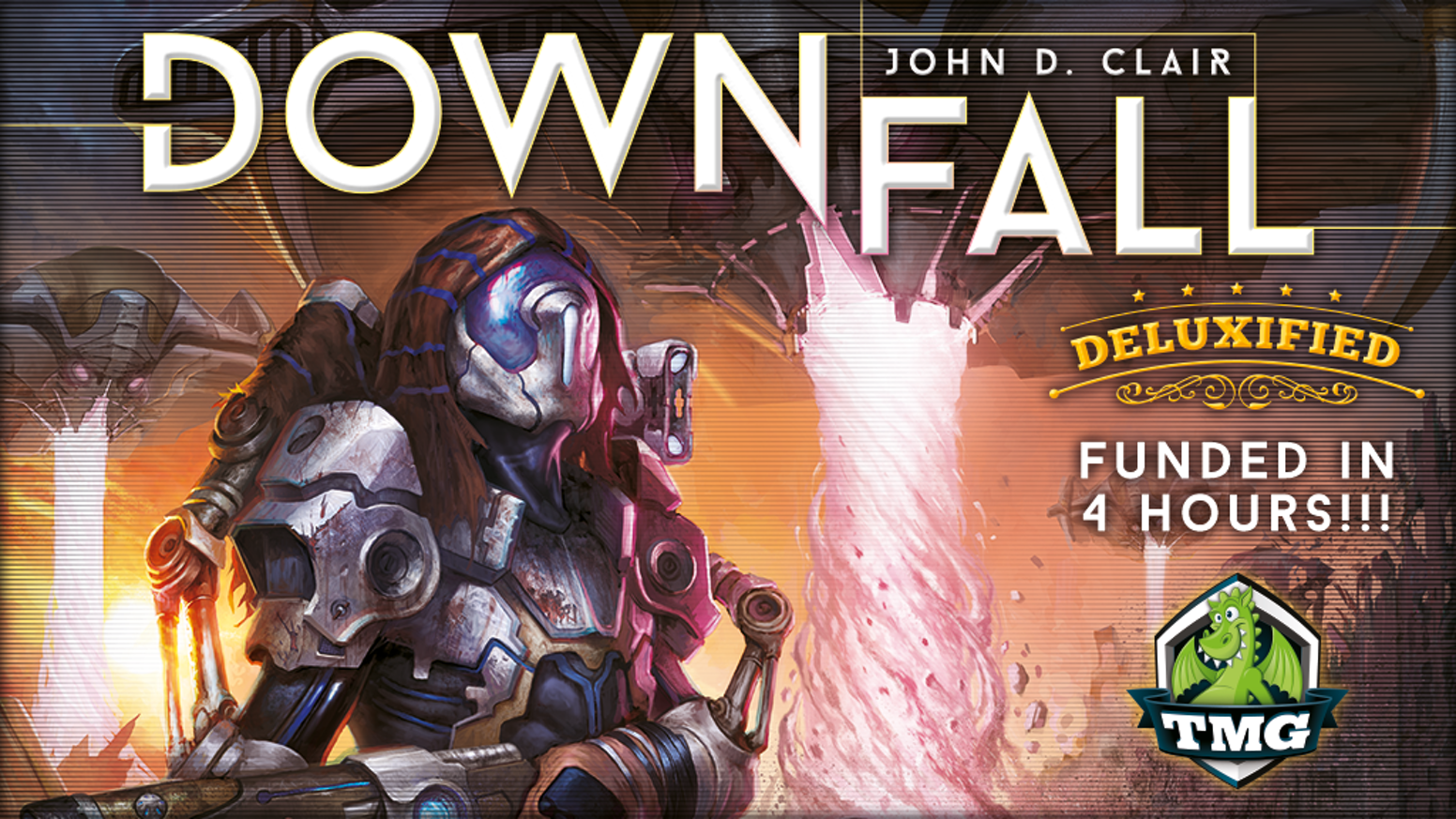 "Tasty Minstrel Games presents John D. Clair's 4X post-apocalyptic strategy game ""Downfall"" - in Deluxified™ Format!"