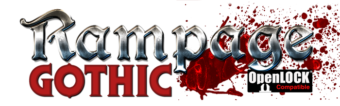 Rampage Gothic is an OpenLOCK compatible scenery building system that allows you to 3d print your own amazing buildings and dungeons