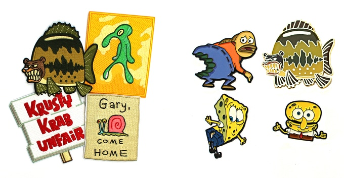 Spongebob Soft Enamel Pin Sets by dudbats — Kickstarter
