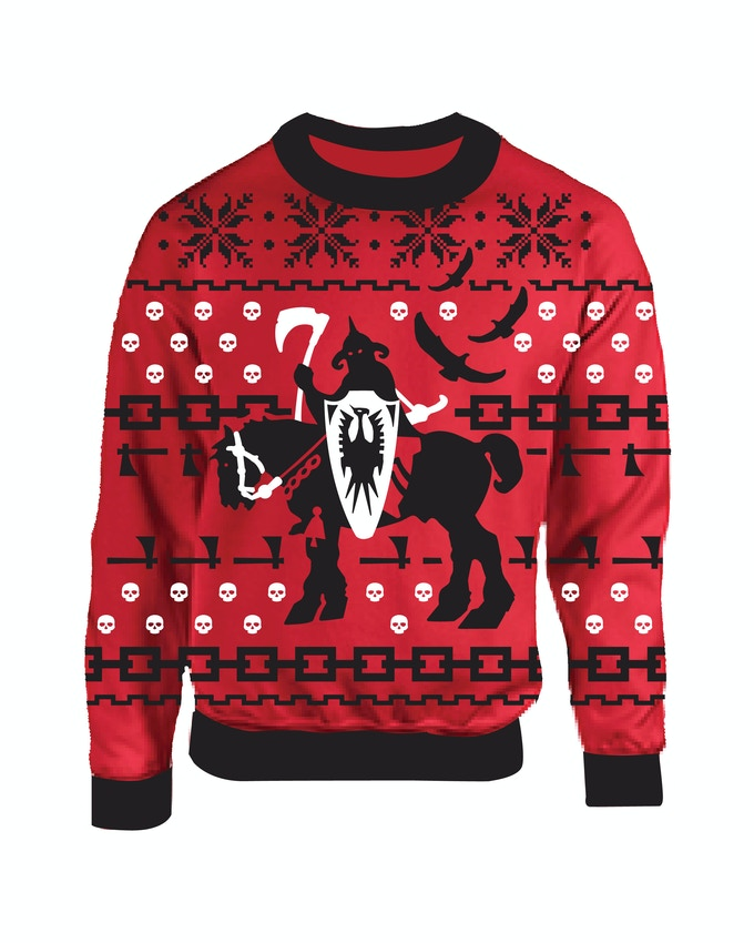 DEATH DEALER HOLIDAY SWEATER!