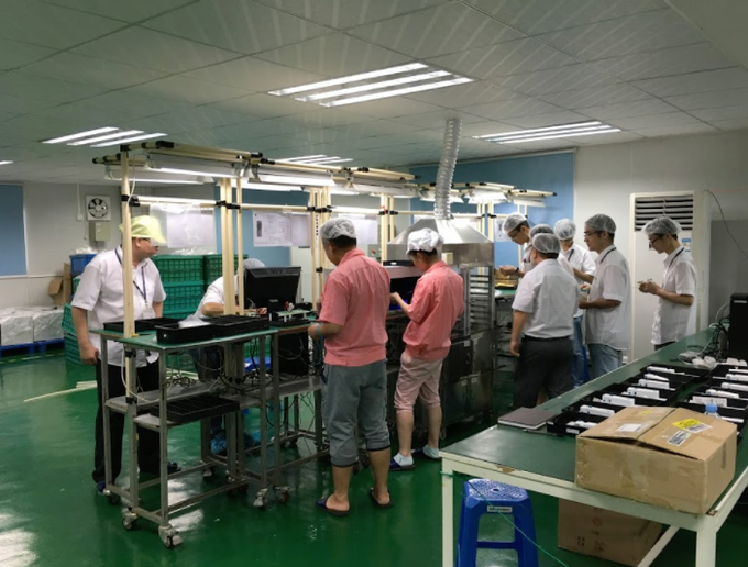 Embr Wave on the assembly line