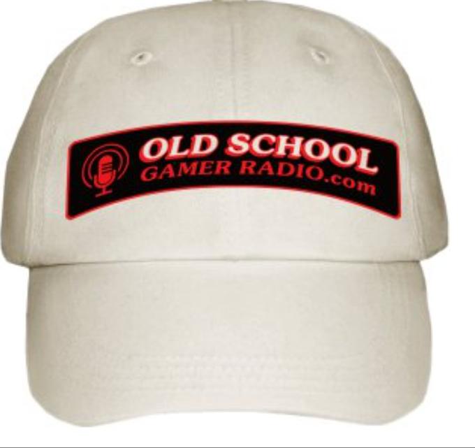 The standard-quality Old School Gamer Radio cap