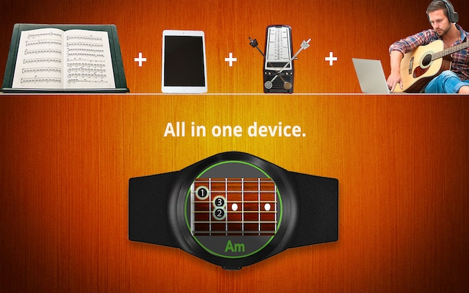 Sheet music, metronome, song library, and lessons in one device.