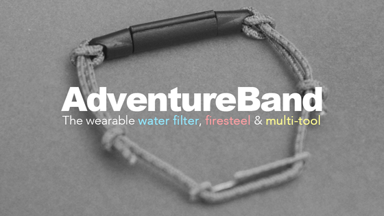 AdventureBand: the basics for survival, right on your wrist