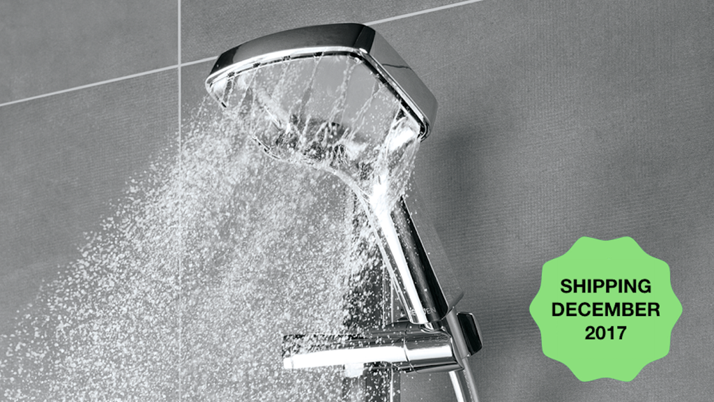 Methven Rua - Power Shower experience using 28% less water project video thumbnail