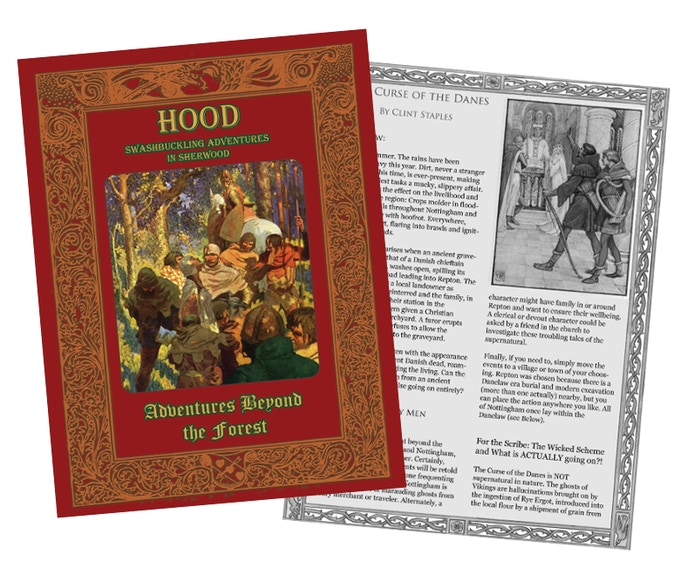 A preliminary layout of the cover and interior pages.