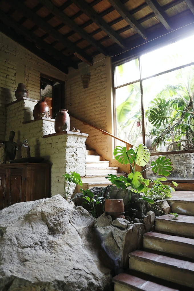 Interior of Diana's home in Michoacán