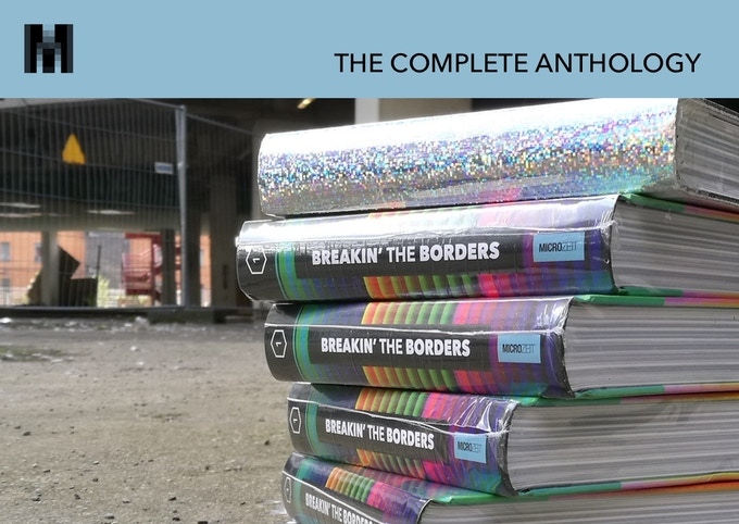 How many books the series will contain is still a secret – even to us. The complete anthology contains more than 1000 pages full of demoscene history.