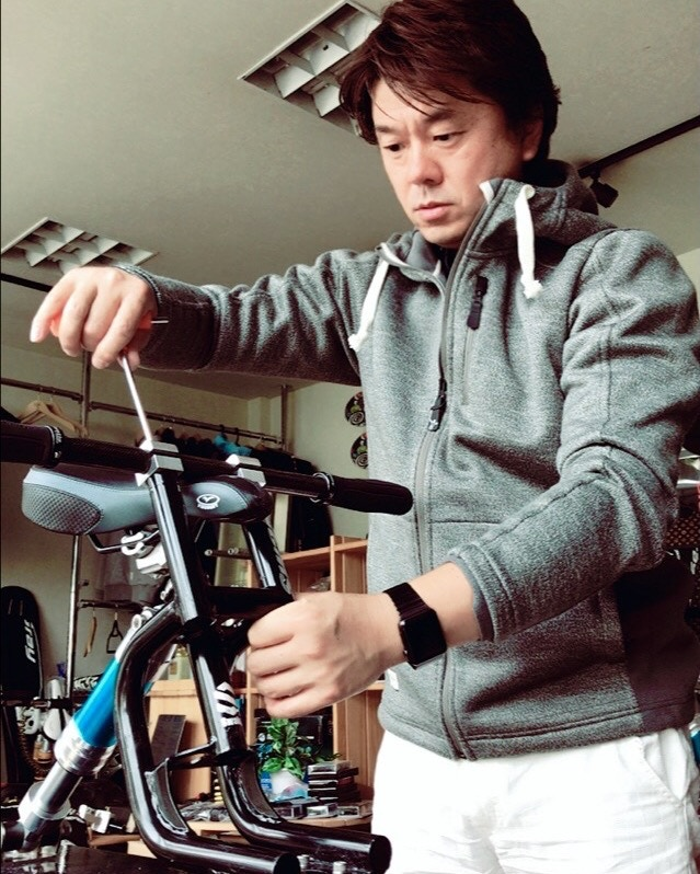 Swaky is named after its creator, former pro snowboarder Toshiyuki Sueki