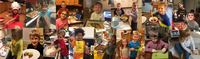 Some of our awesome recipe testers
