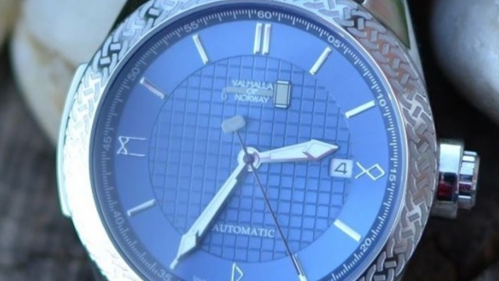 "Valhalla watches ""Orm"" Automatic watch project video thumbnail"