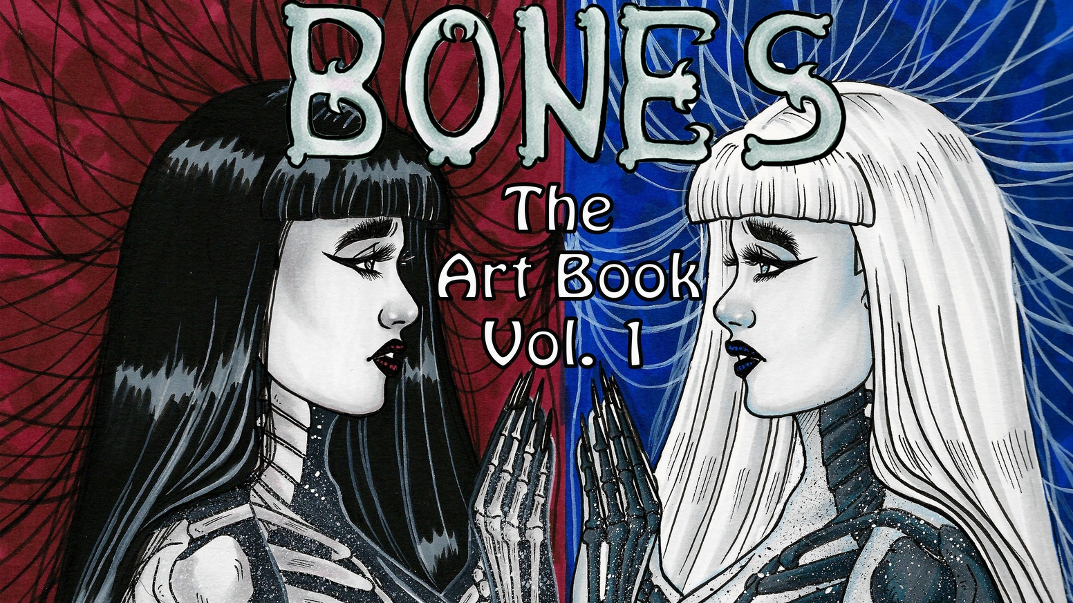 A special edition art book featuring Jessica's creepy BONES girls, presented in beautiful full color, and ink pages.