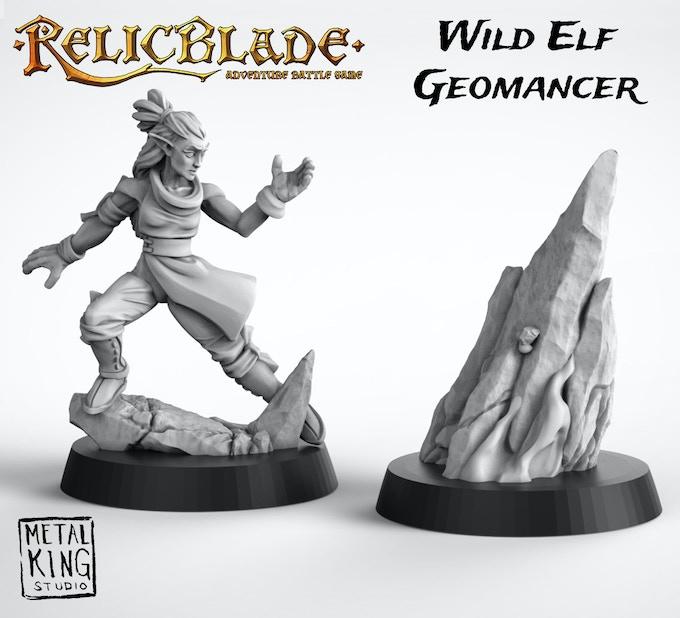 Summon explosive stone spires to smash your enemies.