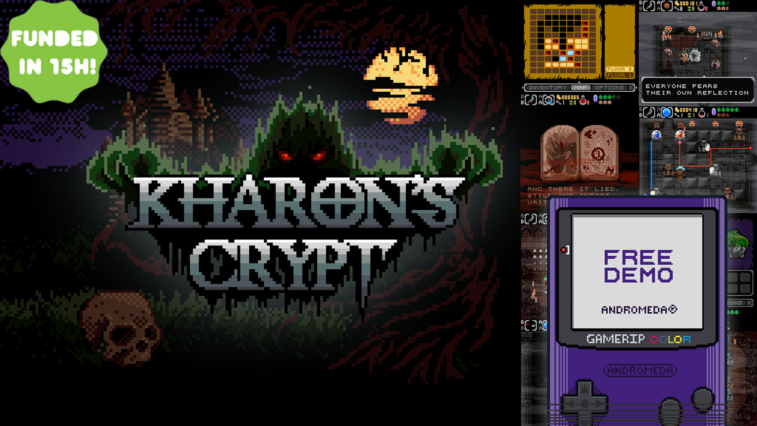 Kharons Crypt Even Death May Die By Andromeda Project New - Design your own character games