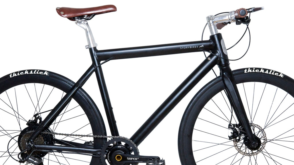 Story Bikes | Premium E-Bike with a Powerful 350W Motor project video thumbnail