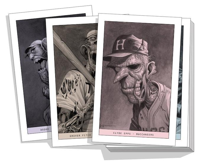 "Print set (same 24 images as cards) 5.5"" x 8.5"""