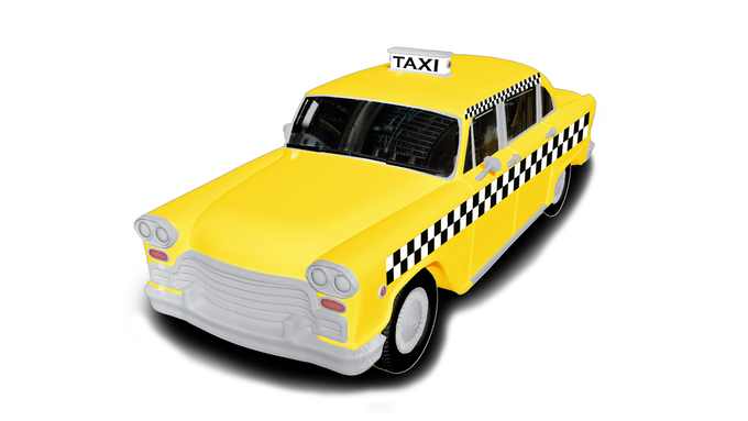 The Yellow Cab!
