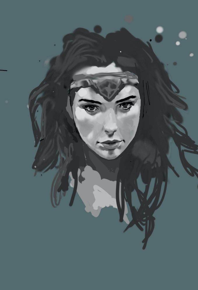 It's a Wonder Woman Speedpaint on the Youtube channel!
