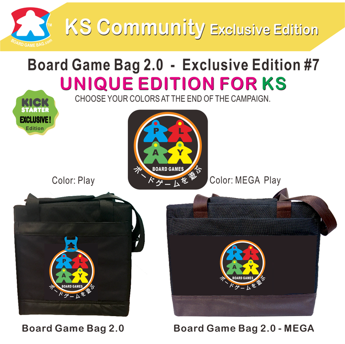 board game bag 2 0 the padded bag for your precious games by good more kickstarter. Black Bedroom Furniture Sets. Home Design Ideas