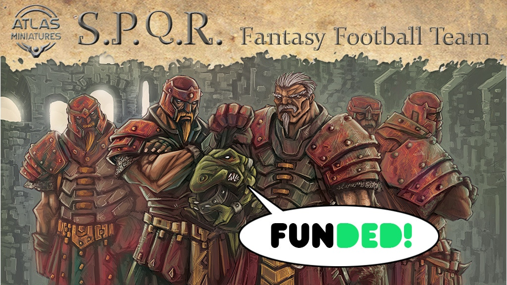 S.P.Q.R. Fantasy Football team - Atlas Miniatures project video thumbnail