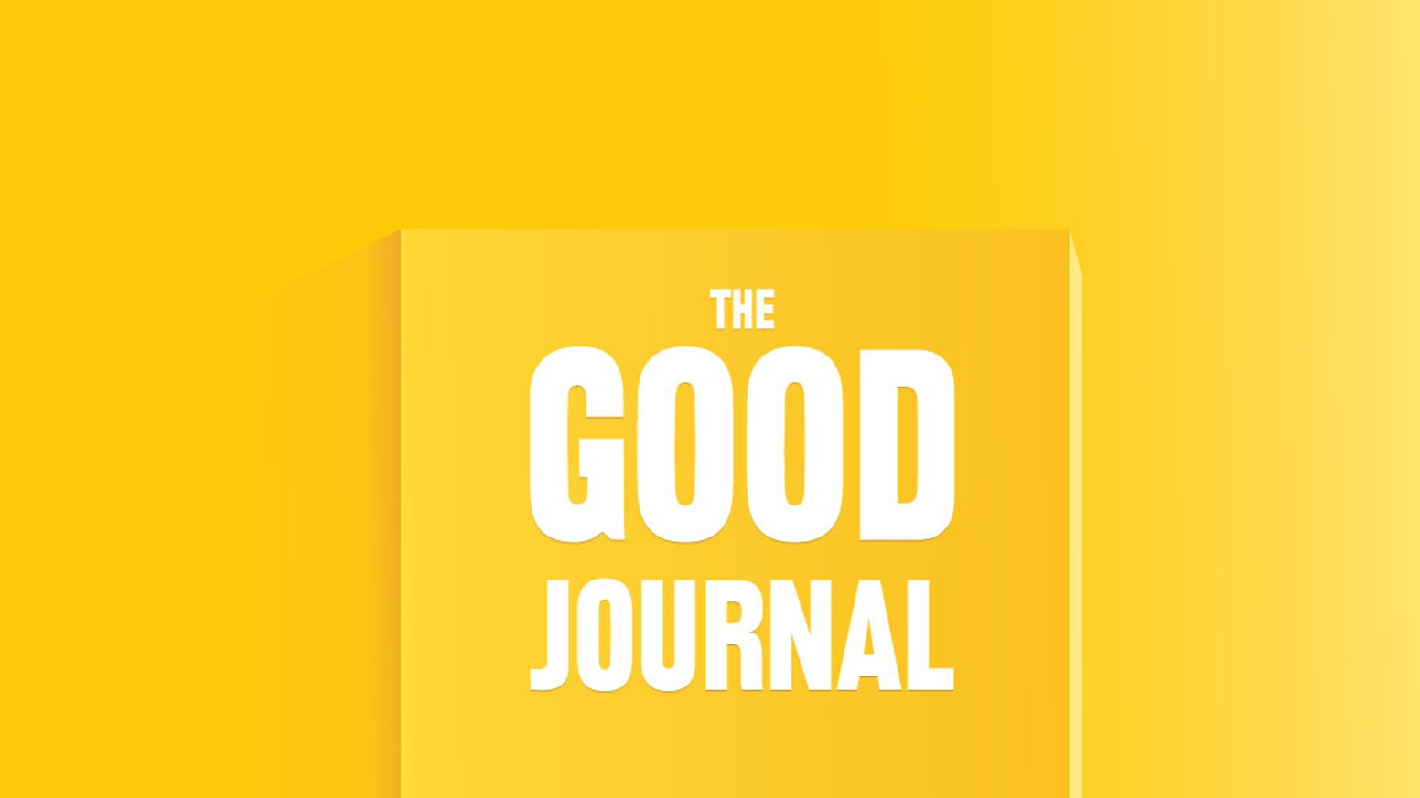 The Good Journal - a quarterly literary magazine by Nikesh