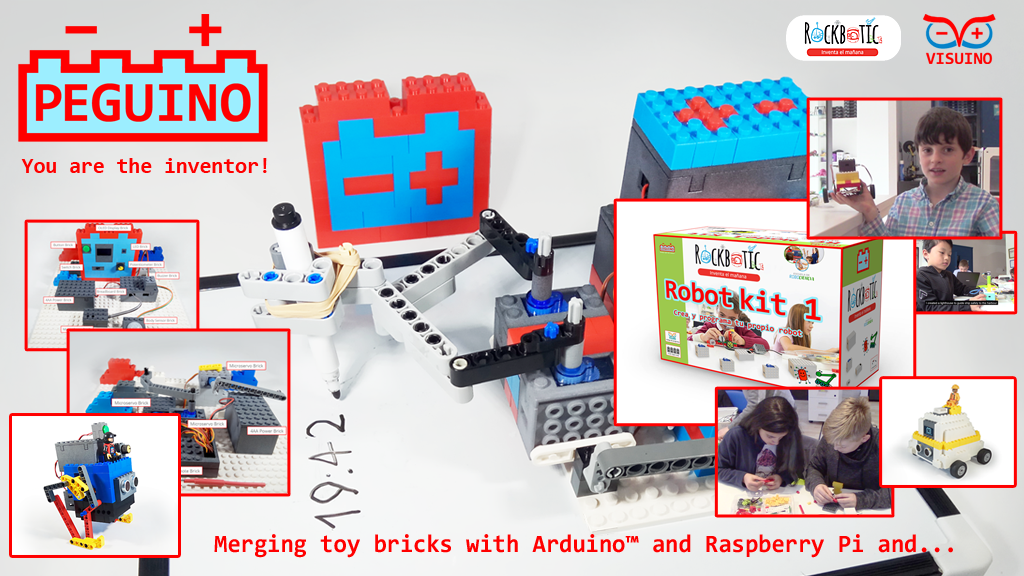 Peguino – merging toy bricks with Arduino™