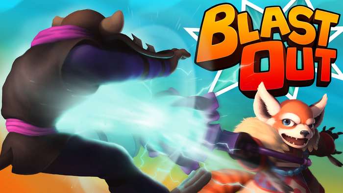 Blast Out is a Top-Down Arcade Style Arena Brawler where you select your own set of abilities and battle it out on deadly arenas.