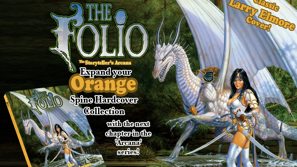 The Folio: Storyteller's Arcana 1E & 5E gaming supplement project video thumbnail