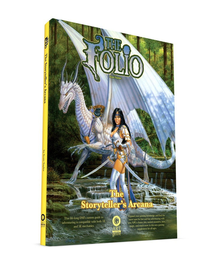 Build on your Orange Spine Collection with a Larry Elmore classic cover!