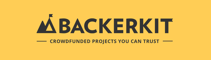 We are proud to partner with BackerKit!!