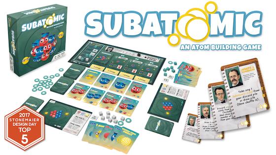 Subatomic: An Atom Building Board Game