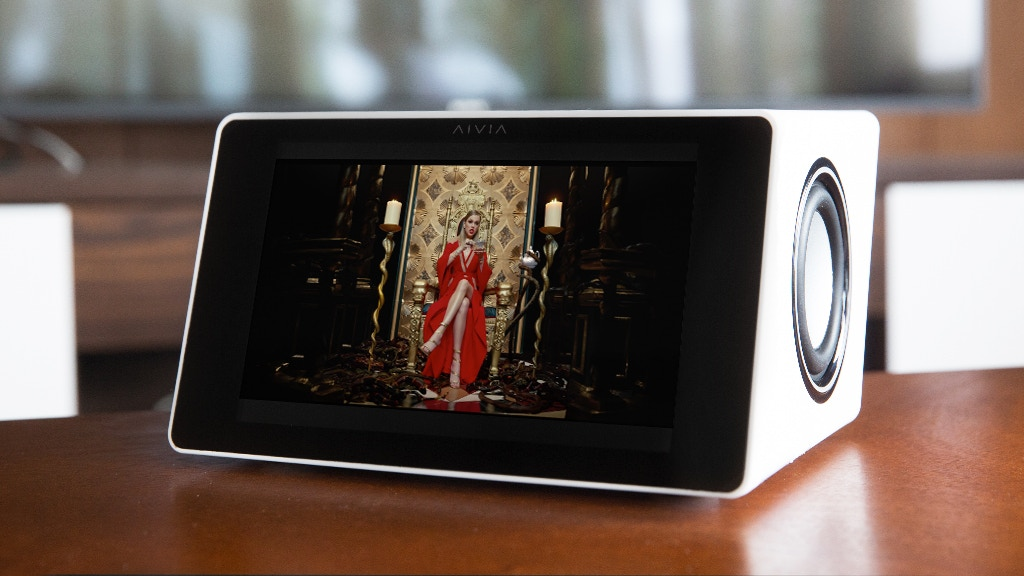 AIVIA   World's Smartest Speaker With A Built-In Subwoofer project video thumbnail