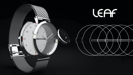 Track LEAF WATCHES: CHANGING THE FACE OF TIME's Kickstarter