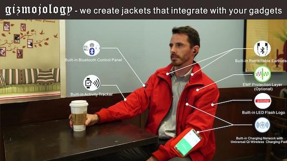 GearUp Hi-Tech Jackets from Gizmojology