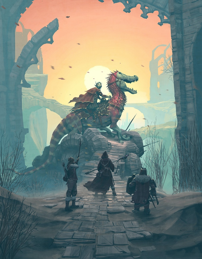 Forbidden Lands - Retro Open-World Survival Fantasy RPG by