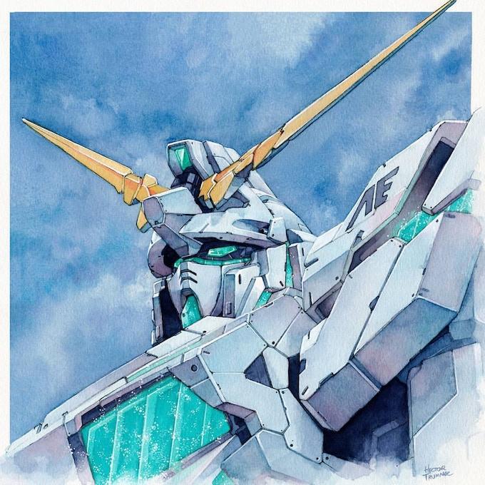 Gundam by Hector Trunnec