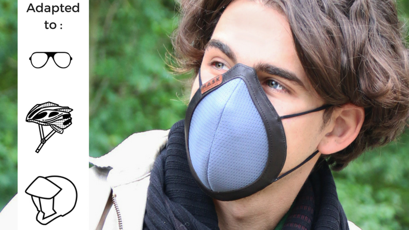 Fashionable protective gear for children and adults - pollution, virus, pollen, bacteria - made with love from France.